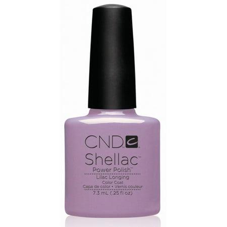 Creative Nail Design CND Shellac Lilac Longing 0.25 Fluid Ounce