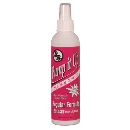 Hydration Spritz (BB Pump It Up Regular Formula Styling Spritz, 8 oz)