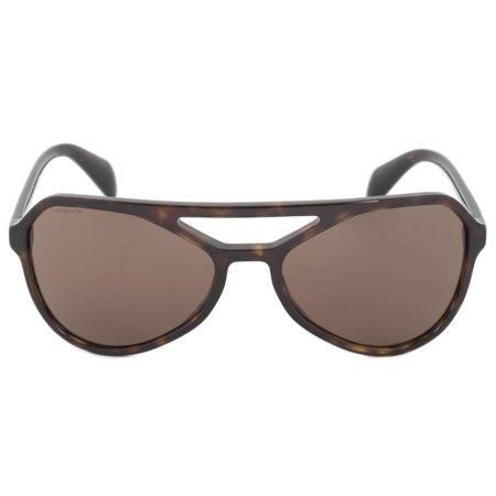 Prada Sunglasses PR22RS 2AU8C1 58 | Dark Havana Frame | Brown Lens