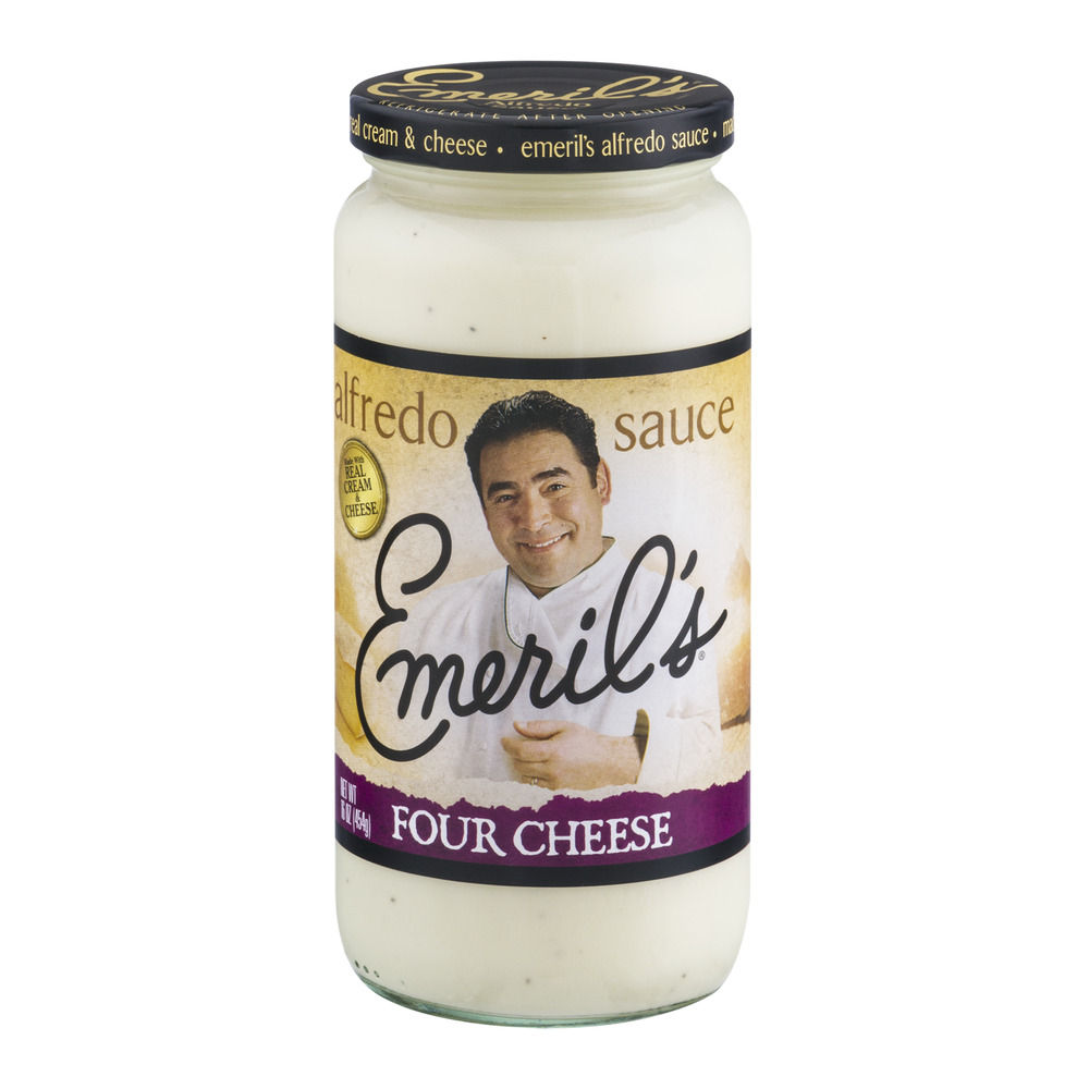 Emeril's Alfredo Sauce Four Cheese, 16.0 OZ
