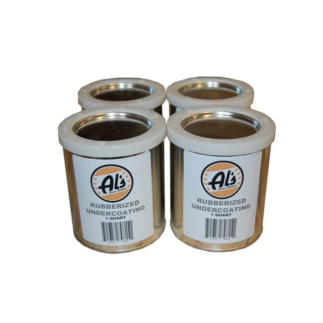 Als Liner ALS-UCR1G 1 gal Rubberized Undercoating, Black