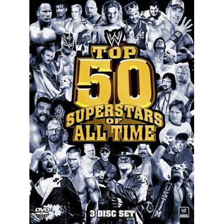 WWE: THE TOP 50 SUPERSTARS OF ALL TIME [DVD BOXSET]