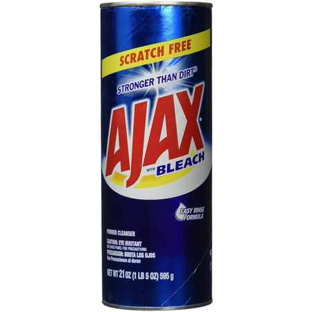 4 Pack - Ajax All-Purpose Powder Cleaner With Bleach 21 oz