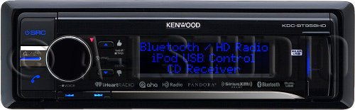 Kenwood KDCBT958HD Cd Receiver Bluetooth Hd Radio Usb Siriusxm Ready by Kenwood