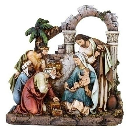 "8.5""  Religious Christmas Nativity Scene Holy Family - Outdoor Nativity Scenes For Sale"