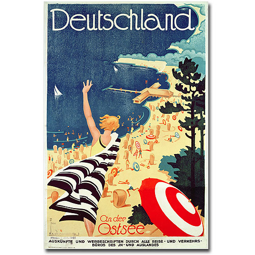 "Trademark Fine Art ""Deutschland, an der Dostsee"" Canvas Wall Art by Richard Friese"