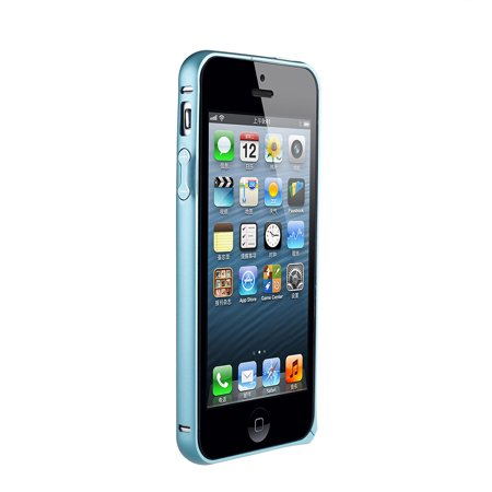dodocool Ultrathin Lightweight Metal Aluminum Bumper Frame Shell Case Protective Cover for iPhone 5