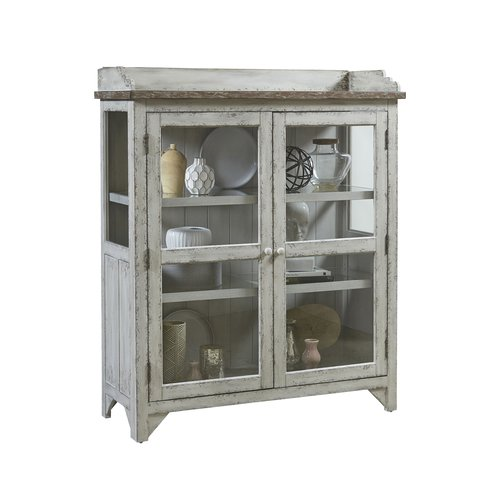 Accentrics Home Nicole Accent Display Cabinet
