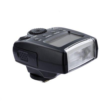 DigitalMate AF TTL Dedicated Compact Speedlite LCD Flash for Canon EOS 90D, 80D, 77D, 70D, 60D, 50D, 7D, 6D, 5D, 1D, Rebel T7i, T7s, T7, T6i, T6s, T6, T5i, T5, SL3, SL2, R, RP, Ra, M50, M10, M6, M5