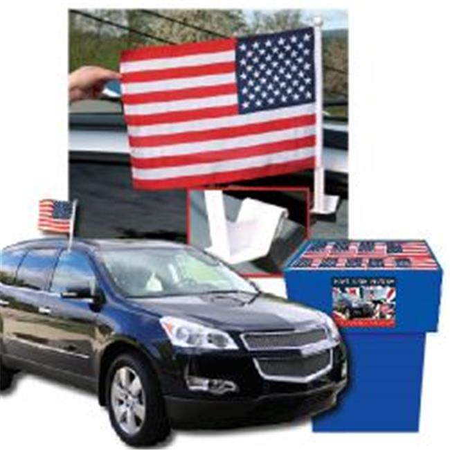 Deluxe Buy 114-DB-27175 USA Car Flags - Pack Of 100