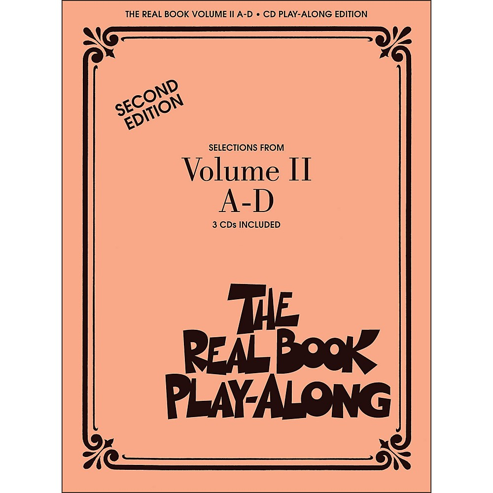 Hal Leonard The Real Book Play Along Volume 2 A-D (3-CD Pack)