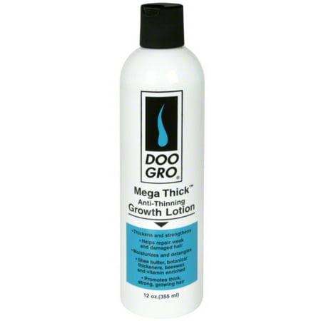 DOO GRO Mega Thick Anti Thinning Growth Lotion, 12 oz (Pack of (Doo Gro Mega Thick Anti Thinning Growth Lotion)