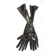 "Star Power Shiny 20"" Leatherette 2pc Gloves, Black, One-Size (20"")"