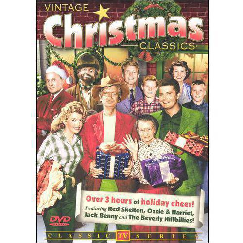 Vintage Christmas TV Classic:- Volume 1 (Red Skelton Show / Adventures of Ozzie And Harriet / Jack Benny Show / The Beverly Hillbillies)