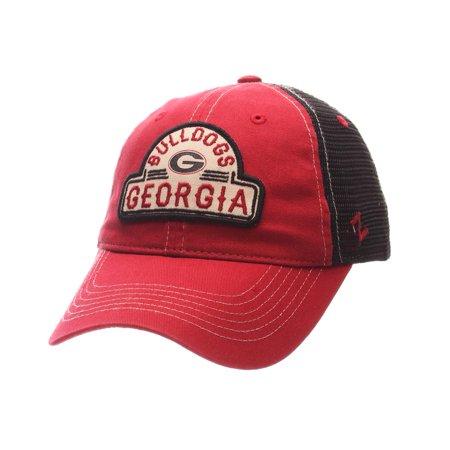 69b34fabd5d Georgia Bulldogs UGA Trucker Hat Zephyr Mesh Cap - Walmart.com