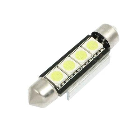 5050 smd 4 led 41mm festoon dome light 578 bulb 41mm for car. Black Bedroom Furniture Sets. Home Design Ideas