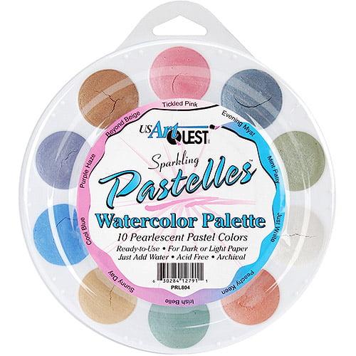 Jewelz Watercolor Palette, Pastels