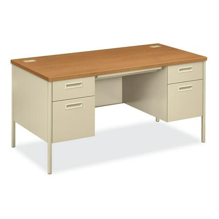 HON Metro Classic Double Pedestal Desk, (Classics Pedestal Desk)