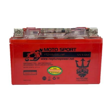 2008 Honda Cbr 1000 - Neptune YTZ10S GEL Replacement Battery for Honda CBR 1000RR 1000 RR 04-07 600RR RR F4i 01-10 CB900F