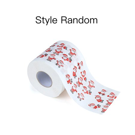 Christmas Printing Paper Toilet Tissues Novelty Roll Paper for Christmas Decoration - image 7 of 7