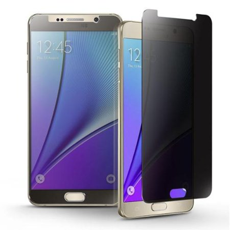 Insten Privacy Filter Anti-spy Tempered Glass LCD Screen Protector Film For Samsung Galaxy Note