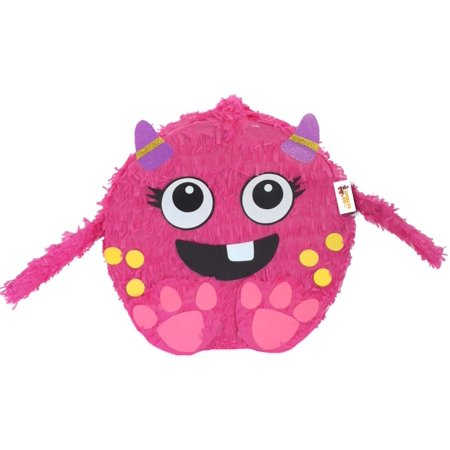 Pink Little Monster Pinata](Little Mermaid Pinatas)