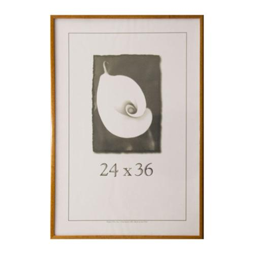 economy 24inch x 36inch picture frame honey 24x36