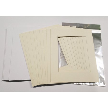 18x24 White Picture Mats with White Core for 13x19 Pictures - Fits ...