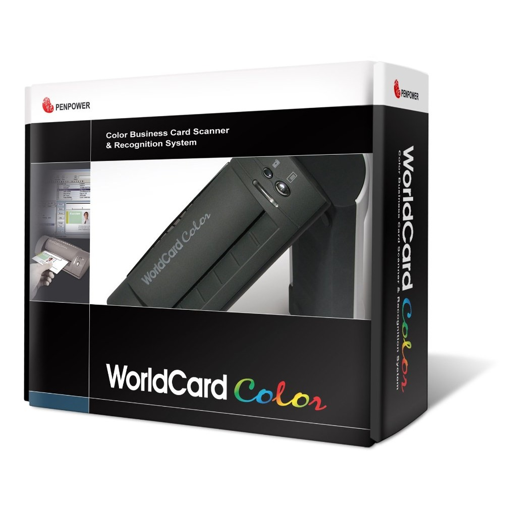 WorldCard Color Business Card Scanner