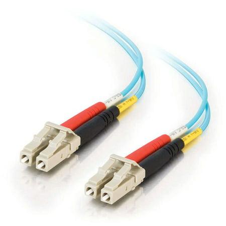 C2G 21600 10 GB LC/LC Duplex 50/125 Multimode Fiber Patch Cable (1 Meters, - C2g 10 Gb Fiber