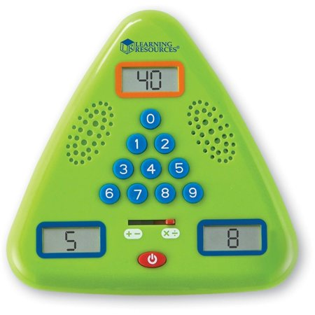 Learning Resources Minute Math Electronic Flash Card