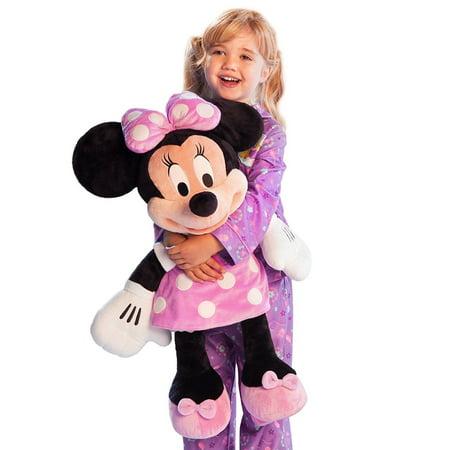 Disney Deluxe Minnie Mouse BIG Jumbo Large Plush