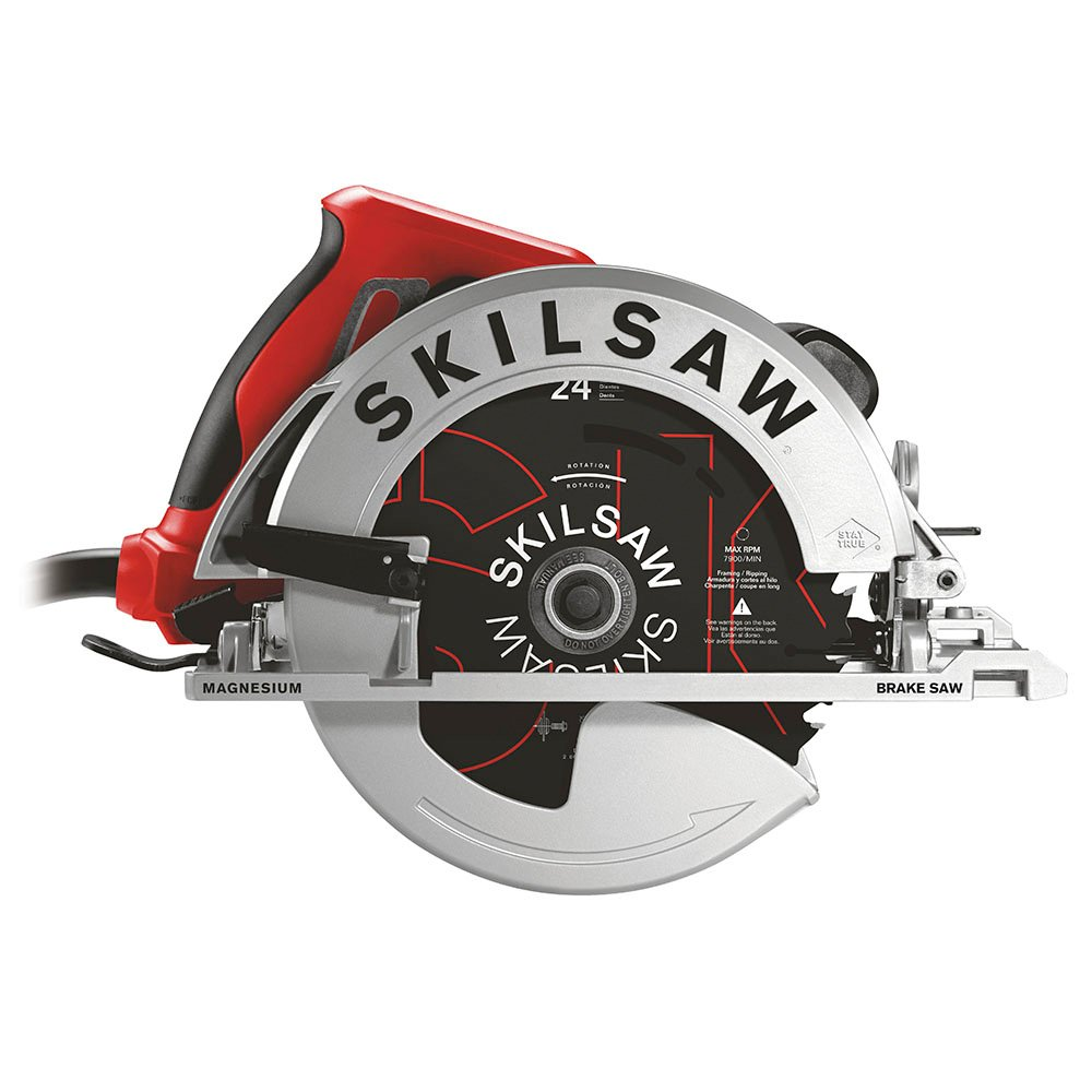 7-1 4 In. Magnesium SIDEWINDER Circular Saw with Brake (SKILSAW Blade) by Chervon