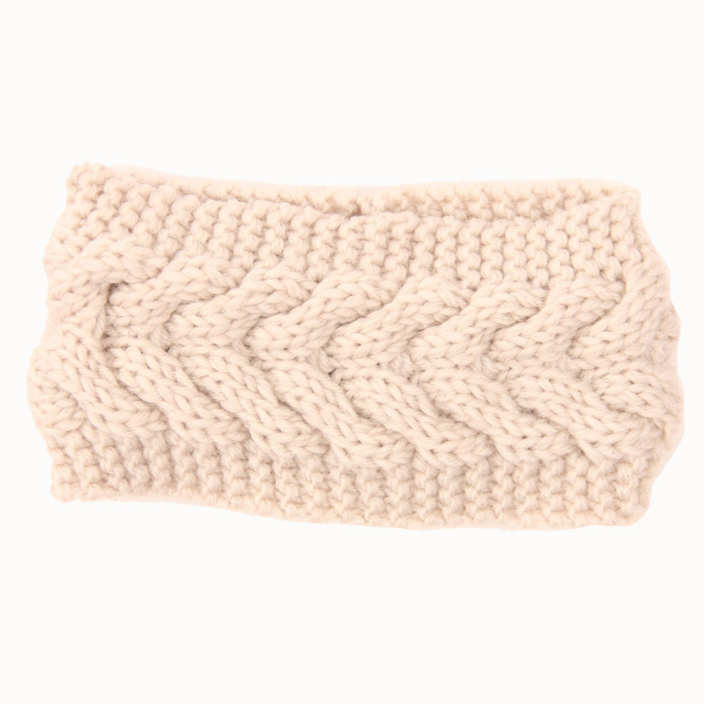 Outtop Women Knitted Headbands Winter Warm Head Wrap Wide Hair Accessories