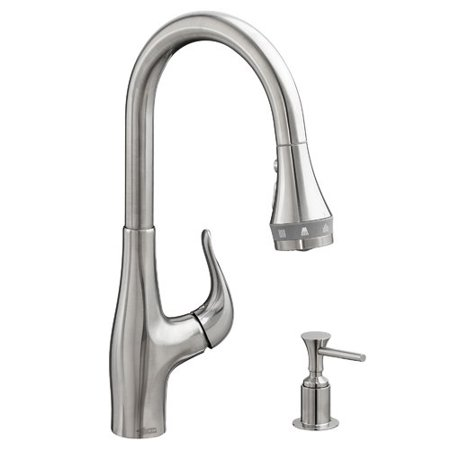 American Standard Xavier Selectflo Single Handle Pull Down Kitchen Faucet