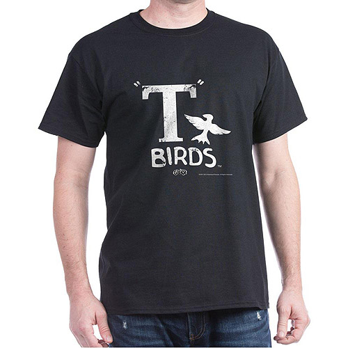 Grease: T Birds Dark T-Shirt By CafePress