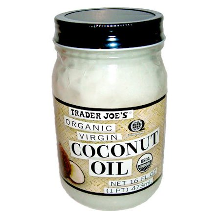 Trader Joe's Organic Virgin Coconut Oil, 16 fl oz (Best Coconut Oil Nz)