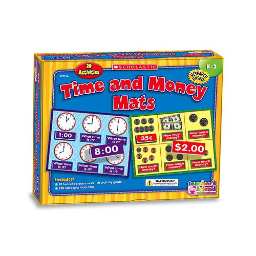 Teachers Friend Time And Money Boxed Kits - Mats