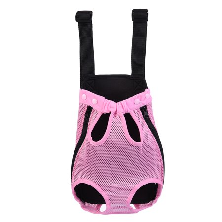 Pet Dog Front Chest Cloth Backpack Carriers with Buttons Outdoor Travel Durable Portable Front Chest Backpack Carrier Backpack Shoulder Bag For Dogs (Backpack Bag Carrier)