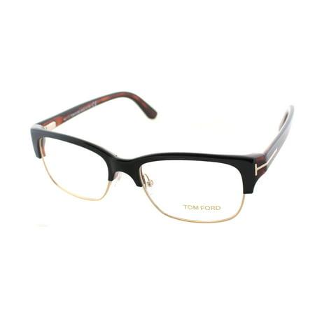 035ec6d549817 ... 5307 005 Shiny Black-havana Ft5307 UPC 664689624690 product image for Tom  Ford FT5307 005 Unisex Square Eyeglasses