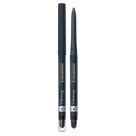 Exaggerate Auto Waterproof Eye Definer, Earl Grey, 0.01 Fluid Ounce, Soft creamy texture in a retractable pencil By Rimmel From