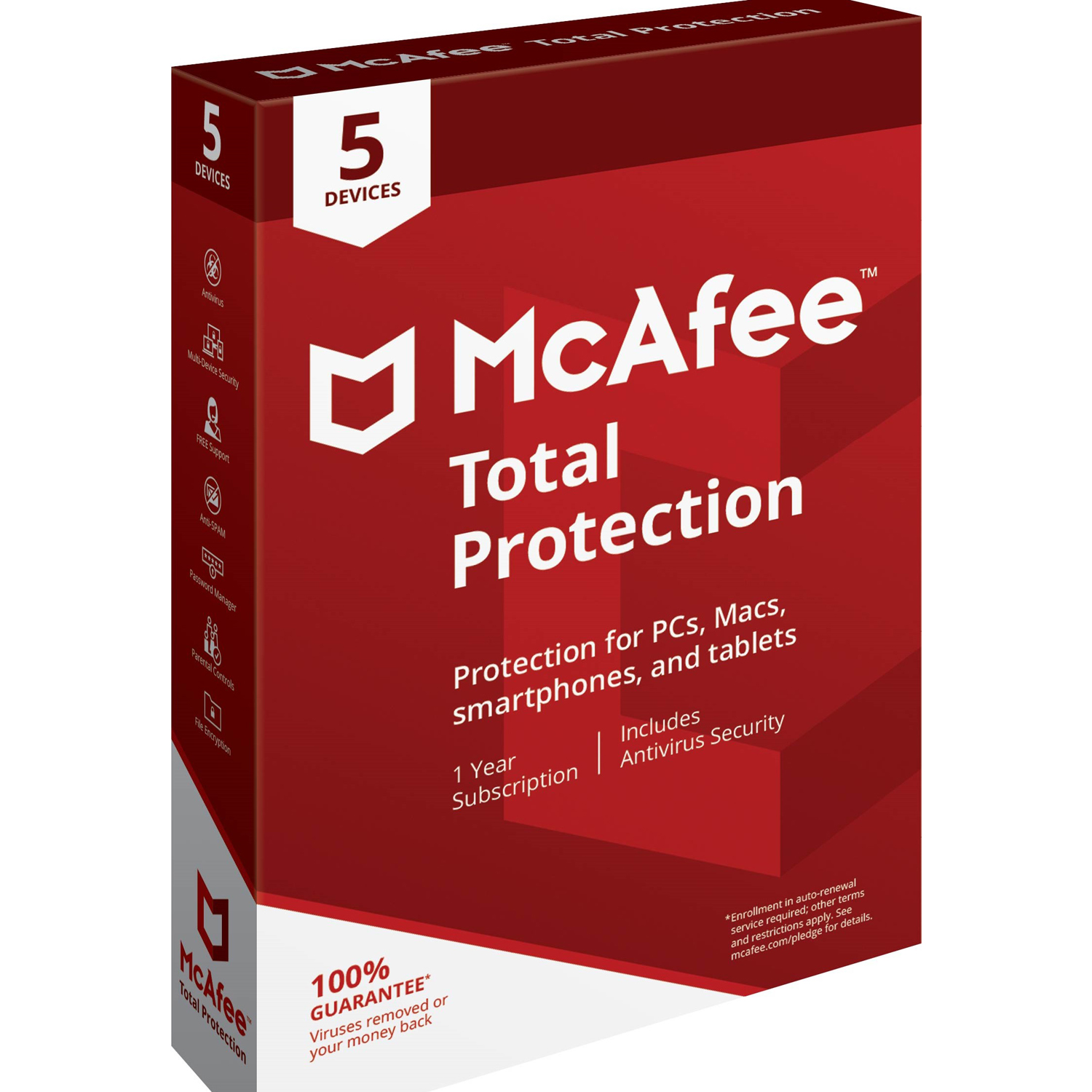 McAfee Total Protection 5 Device