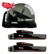 DTP4950R  Dish Tailgater Pro Satellite Bundle,Satellite and 2 Wally Receivers