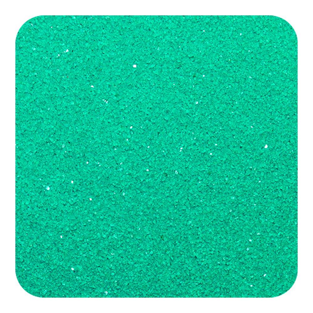 Sandtastik Kids Child Wedding Craft Hobby Emerald Green Colored Play Sand 1 Lb Bag by Sandtastik