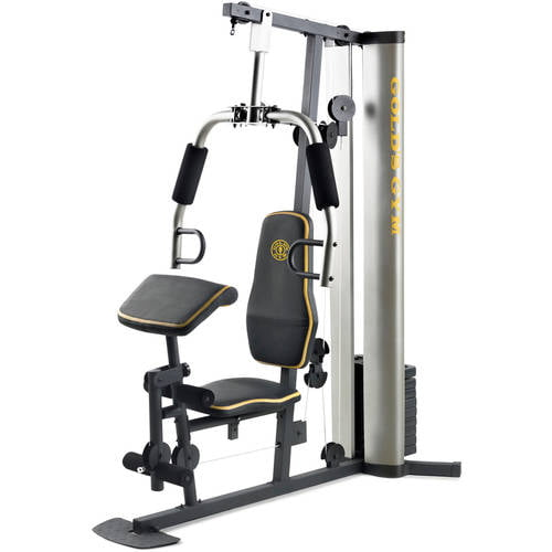 Gold s gym xr home gym with lbs of resistance