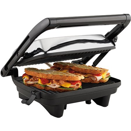 Hamilton Beach Panini Press Gourmet Sandwich Maker | Model# 25460