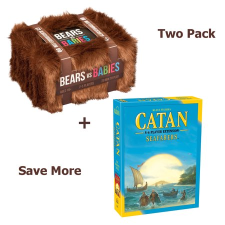 Catan  Seafarers 5 6 Player Extension 5Th Edition With Bears Vs Babies