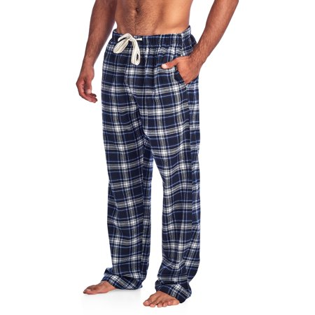 Plaid Flannel Pajama Top - Ashford & Brooks Mens Super Soft Flannel Plaid Pajama Sleep Pants