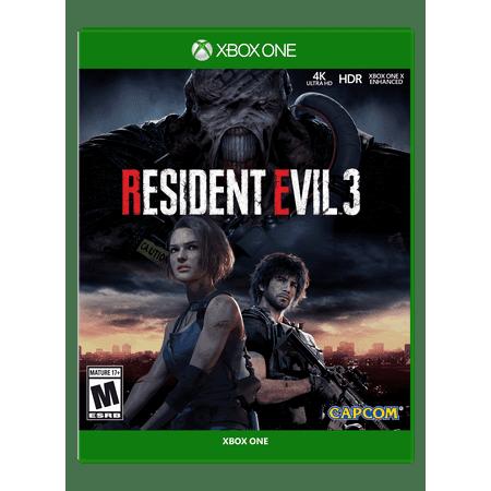 Resident Evil 3, Capcom, Xbox One, 013388550463