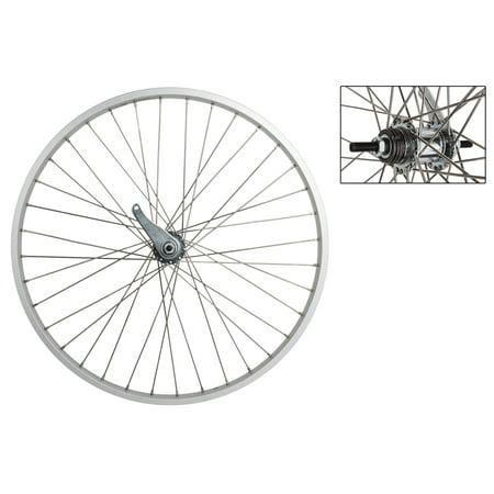 Weinmann AS7X 26-Inch Rear Bike Wheel Silver 1-Speed CB Mountain Bike Rear Wheel